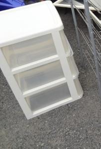 大津市内で冷蔵庫、衣装ケースなど回収写真