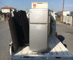 大津市大江で冷蔵庫、洗濯機、マットレスの粗大ごみ処分事例