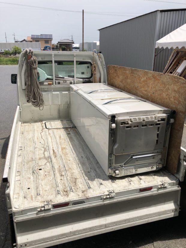 大津市真野で冷蔵庫の回収 施工事例紹介