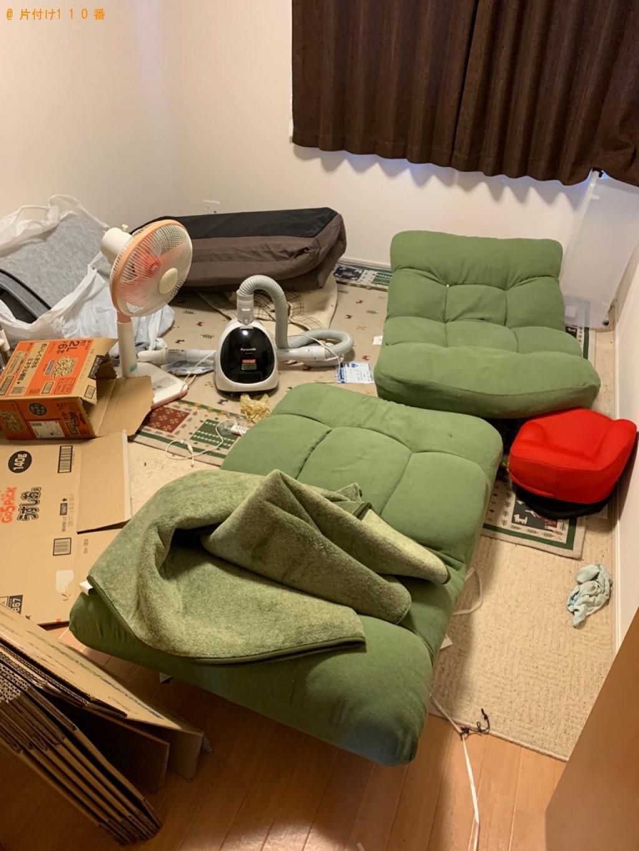 【近江八幡市江頭町】冷蔵庫、カーペット、食器棚、ソファー等の回収