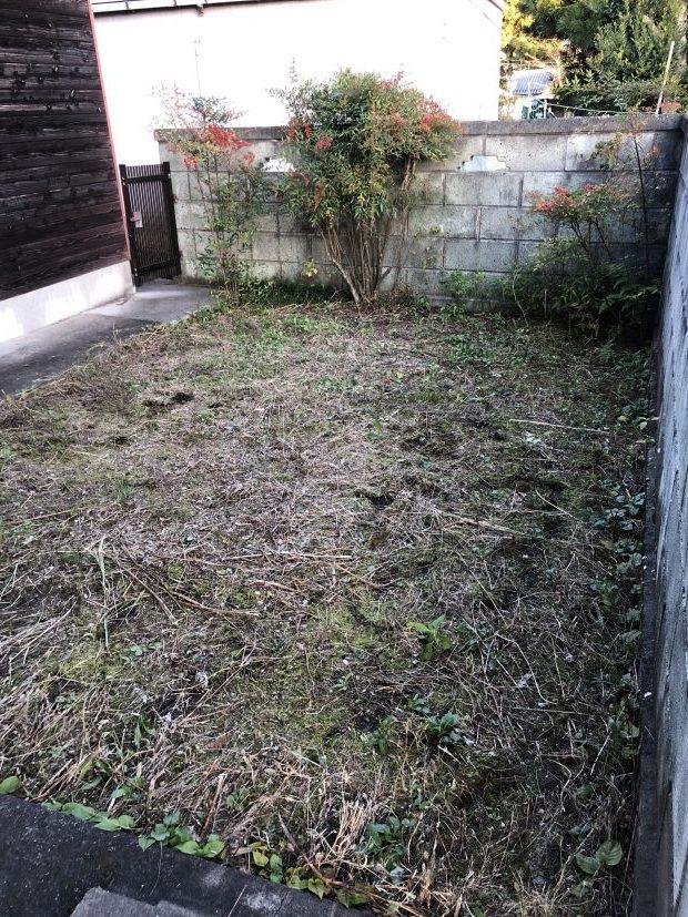 【甲賀市土山町】お庭の草刈りと庭木の剪定☆広いお庭もあっという間に整備し、ご満足いただけました!