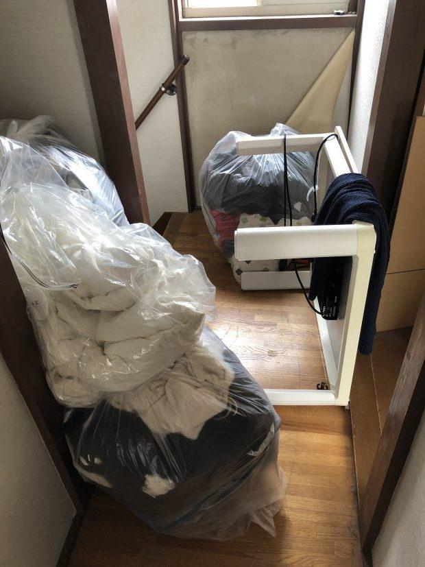 【大津市神領】アパート一室分の不用品回収☆急なご依頼でも希望日での回収にご満足いただけました!