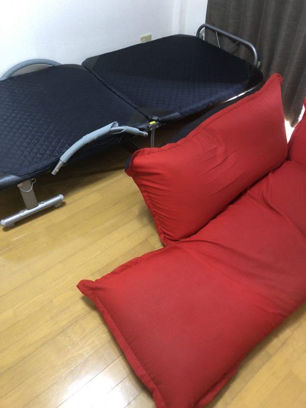 【長浜市南高田町】ベッドなど数点回収しました☆日付・時間帯ともにお客様のご希望に合わせて対応することができご満足いただけました!
