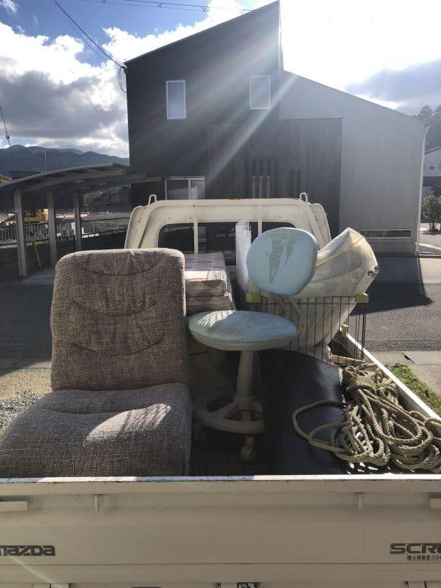 【犬上郡多賀町】ソファー、布団などの回収☆オペレーターからお伝えしていた金額よりも安くなりお喜びいただけました!