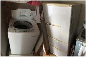 お引っ越しに伴う不用品(洗濯機、冷蔵庫など)の回収のご依頼 お客様の声