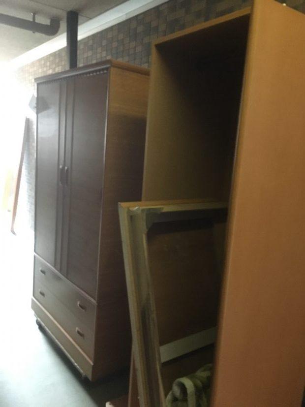 【大津市浜大津】タンス、学習机など家具の回収☆増えてしまった不用品もまとめて処分できご満足いただけました!