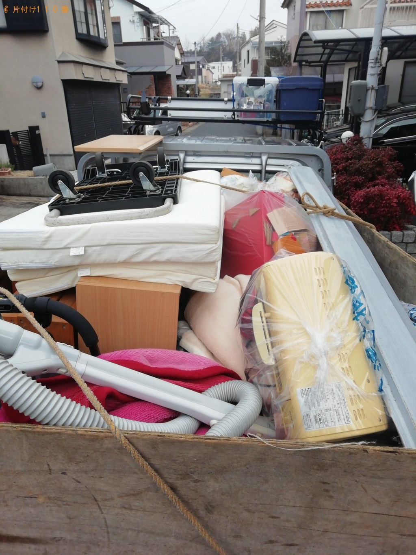 【大津市】軽トラック1台程度の不用品回収ご依頼 お客様の声