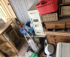 【東近江市東沖野】家1軒分の大量の不用品回収☆物があふれ困っていたお客様に喜んでいただけました!