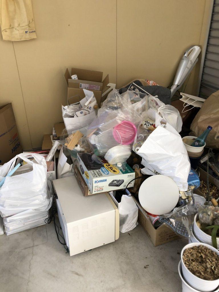 【大村市】軽トラック1台程度の不用品回収