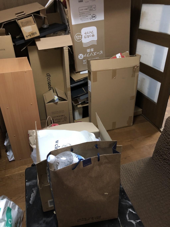 【大津市】部屋の片付け・片付け後のごみ回収・処分 お客様の声