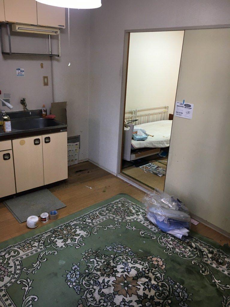 【大津市】3DKの不要品処分・積み込み・仏壇の分解のご依頼!お部屋が綺麗に片付きお喜びいただけました!