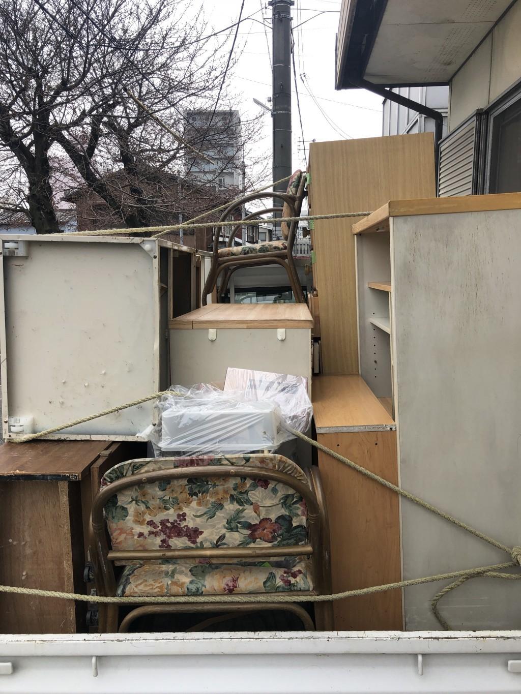 【大津市】軽トラック1台分の不用品回収☆お得な金額にご満足いただけました!