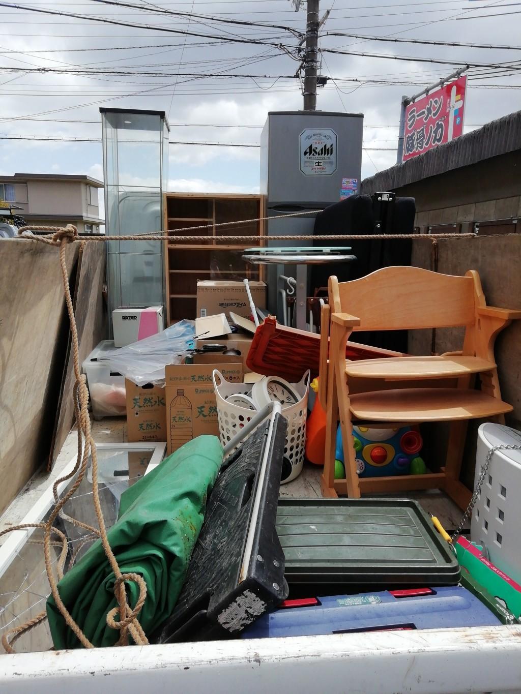 【大津市】2tトラック一台分の不用品回収処分のご依頼 お客様の声