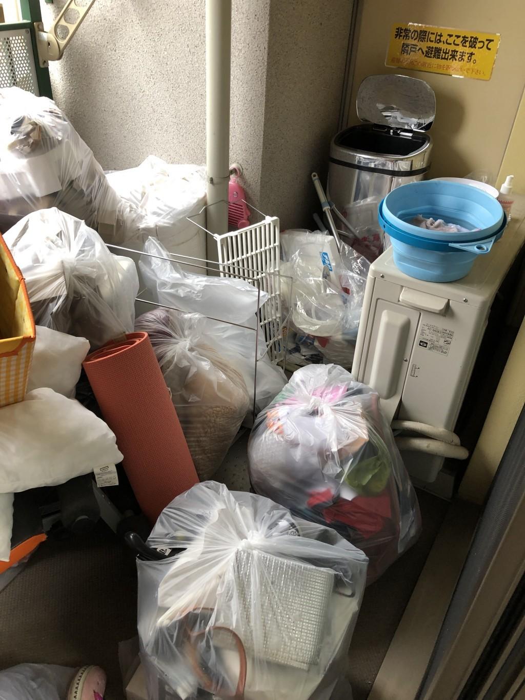 【草津市】軽トラ一台分の不用品出張回収・処分のご依頼 お客様の声