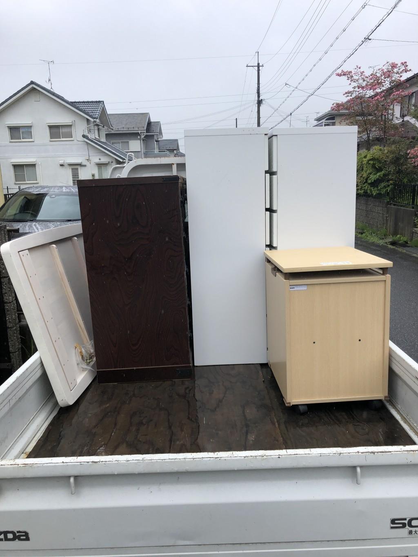【竜王町】タンスと机の出張不用品回収・処分のご依頼 お客様の声