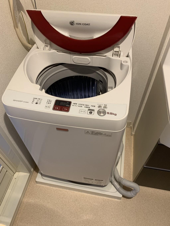 【草津市】洗濯機1台の回収 お客様の声