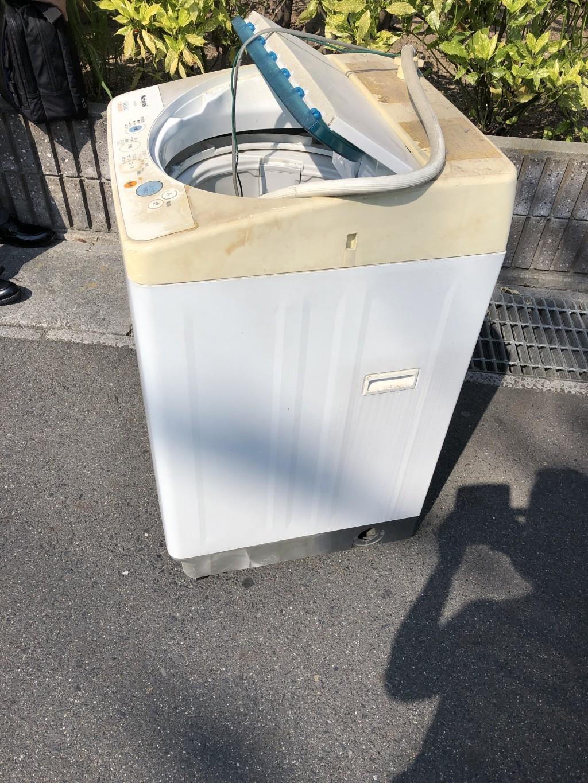 【草津市】洗濯機の出張不用品回収・処分ご依頼
