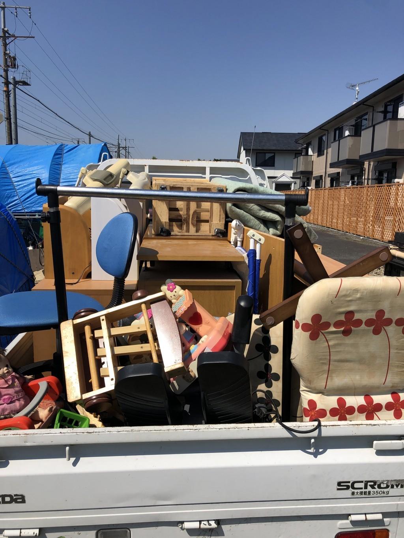【千代田区】軽トラ1台程度の出張不用品回収・処分ご依頼