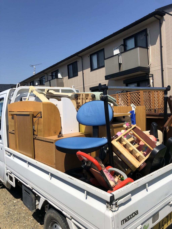 【御所市】軽トラ1台程度の出張不用品回収・処分ご依頼