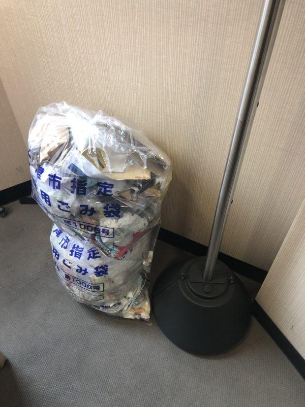 【大津市】掃除機や段ボールなどの不用品の回収 お客様の声