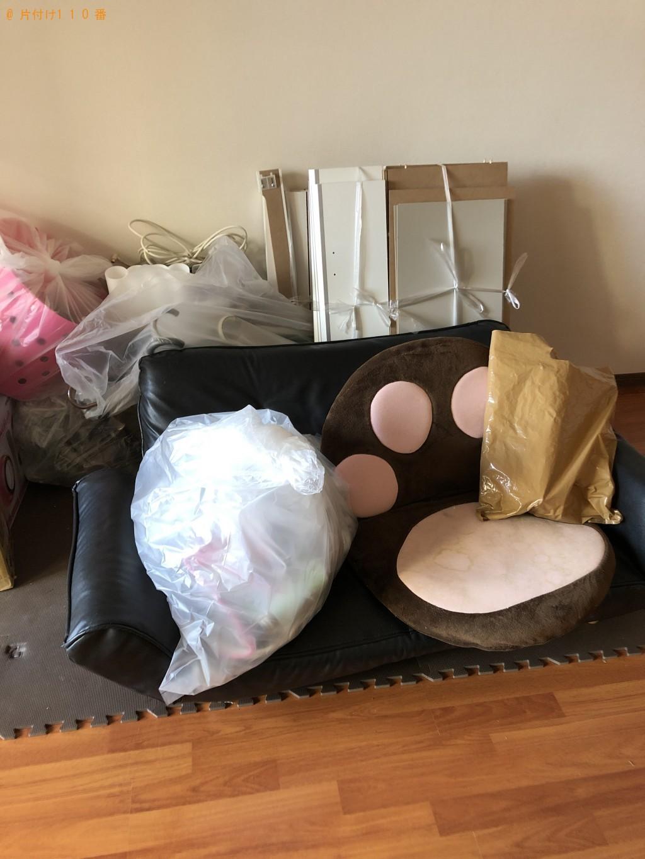 【草津市】シングルベッドと家庭ゴミの処分 お客様の声
