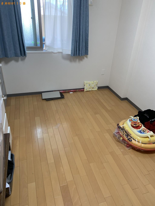 【大津市】セミダブルベッドの出張不用品回収・処分ご依頼