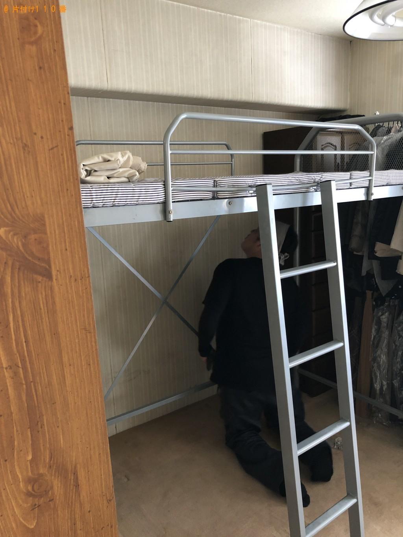 【大津市】本棚、ロフトベッド、マットレスなどの出張不用品回収・処分ご依頼