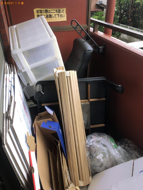 【草津市】一人暮らしの家財道具の処分 お客様の声