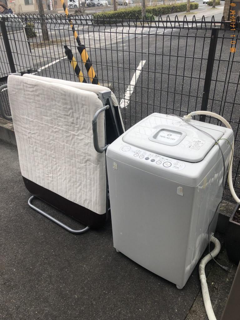 【大津市】ベッド、洗濯機の出張不用品回収・処分ご依頼 お客様の声