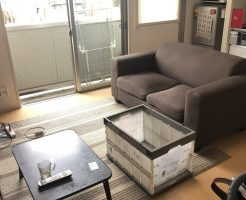 【草津市】一人暮らしの家財道具の回収・処分 お客様の声