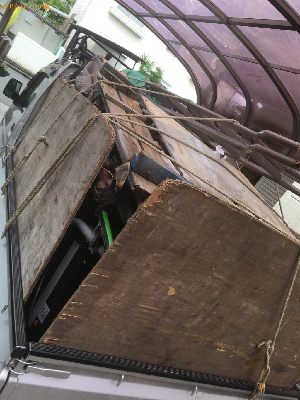 【大津市】軽トラック1台分の不用品の処分 お客様の声