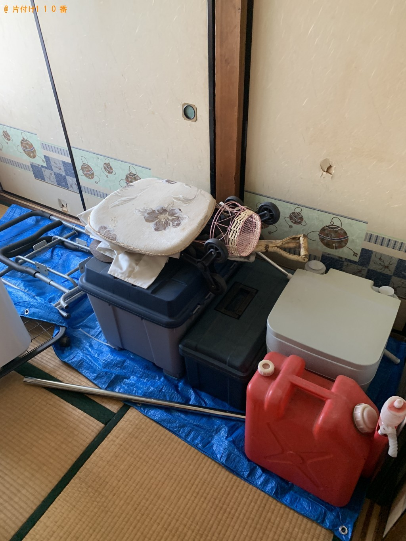【大津市田辺町】布団、収納ケース、ポリタンク等の回収・処分 お客様の声