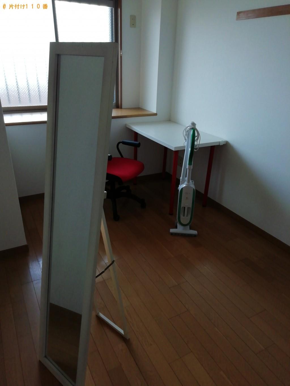 【栗東市】洗濯機、学習机、回転イス等の回収・処分 お客様の声