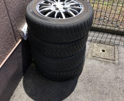 【野洲市】自動車タイヤの回収・処分 お客様の声