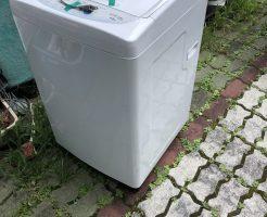 【湖南市水戸町】引っ越しに伴い洗濯機1点の回収・処分 お客様の声