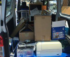 【近江八幡市八木町】電気ストーブ、収納ラック、プリンター等の回収・処分 お客様の声