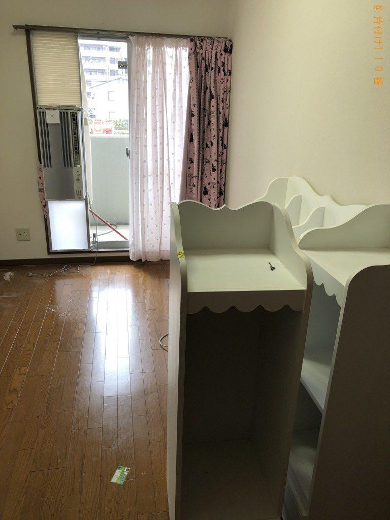 【栗東市】冷蔵庫、洗濯機、本棚などの出張不用品回収・処分ご依頼