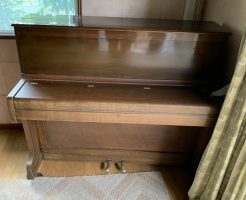 【甲賀市甲南町】アップライトピアノの回収・処分 お客様の声