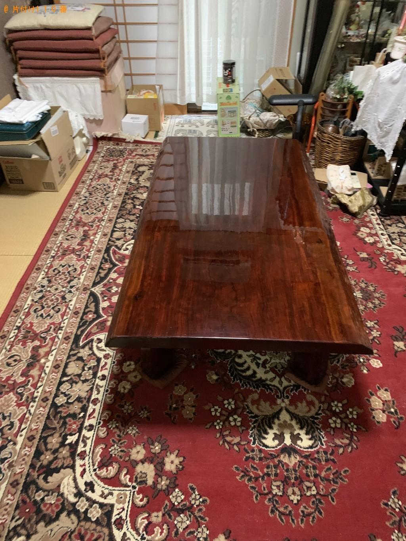 【近江八幡市若葉町】ローテーブル、プリンター、布団等の回収・処分 お客様の声