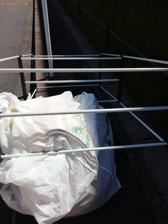 【大津市】シングルベッドフレーム、整理タンス、布団等の回収・処分 お客様の声