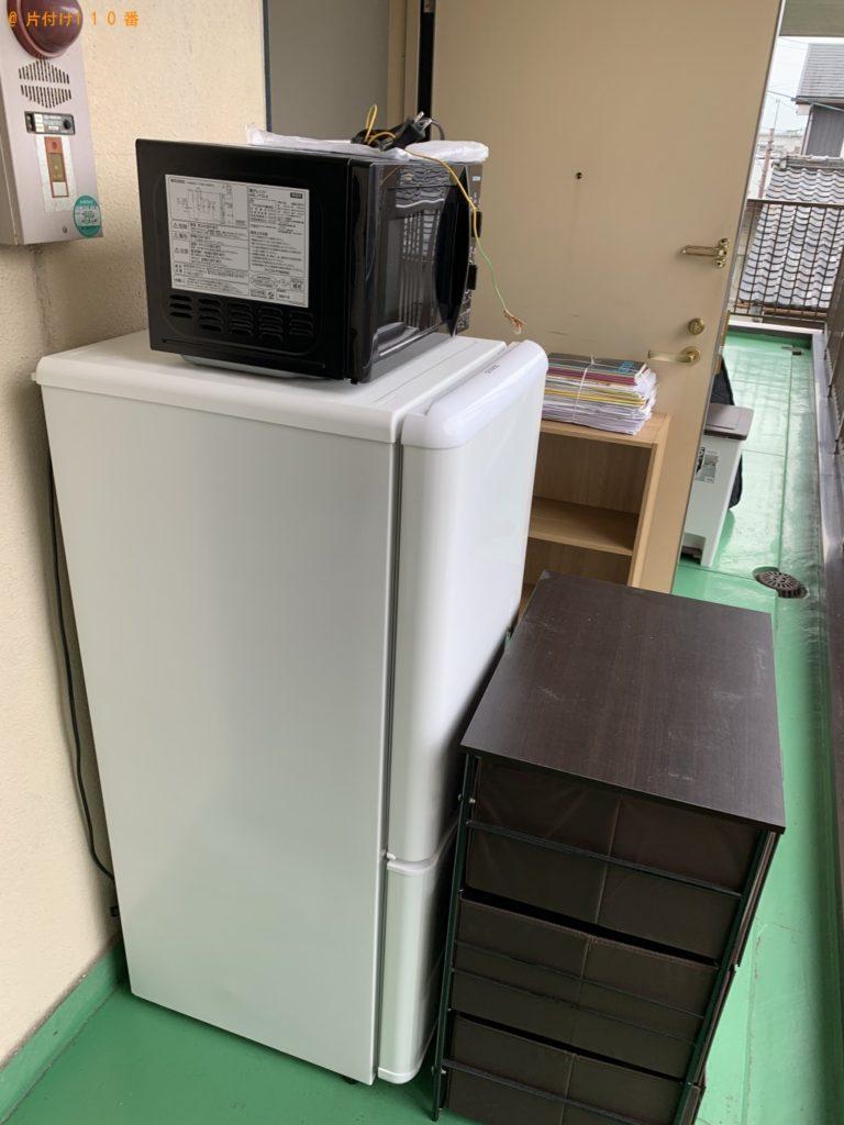 【武蔵野市】シングルベッド、冷蔵庫、洗濯機等の回収・処分 お客様の声