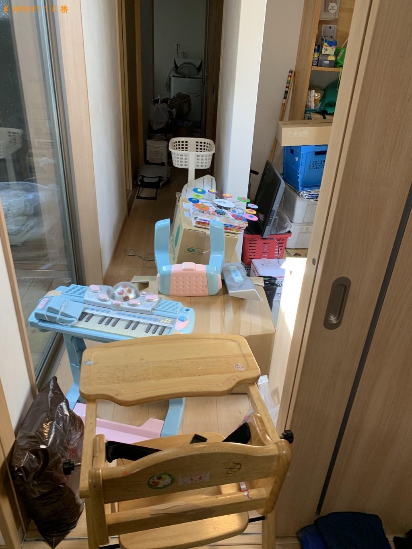 【草津市】おもちゃ、ベビーカー、チャイルドシート等の回収・処分 お客様の声