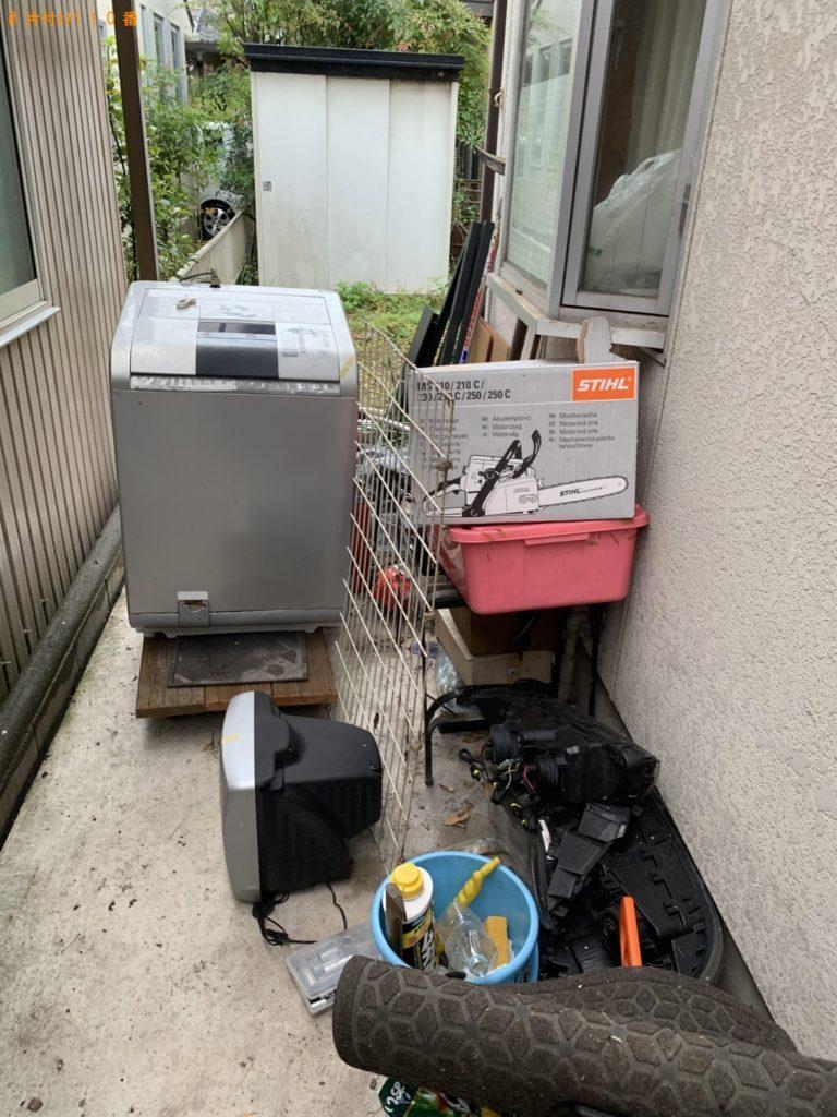 【東村山市】洗濯機、テレビ、消化器等の回収・処分 お客様の声