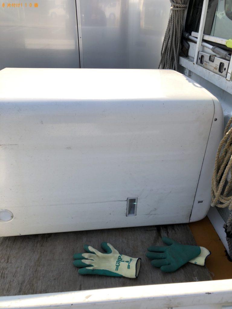 【草津市志那町】洗濯機の出張不用品回収・処分ご依頼 お客様の声