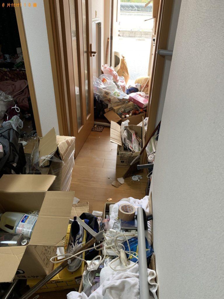 【彦根市極楽寺町】2t2台分の不用品回収・処分ご依頼 お客様の声