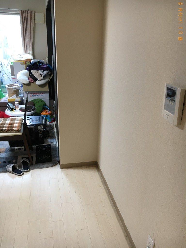 【大津市】整理タンス、食器棚、テレビ台の回収・処分ご依頼