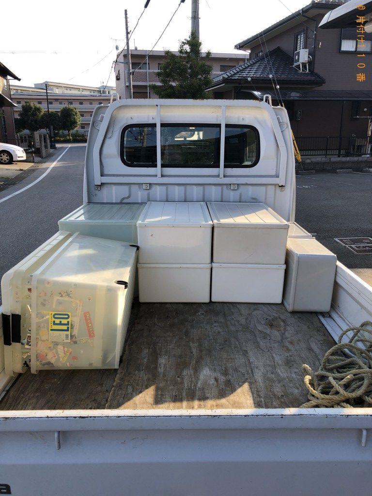 【彦根市竹ケ鼻町】カラーボックス、衣装ケースの回収・処分ご依頼