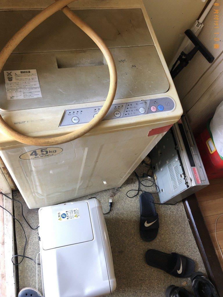【湖南市】テレビ、洗濯機、ビデオデッキ等の回収・処分ご依頼