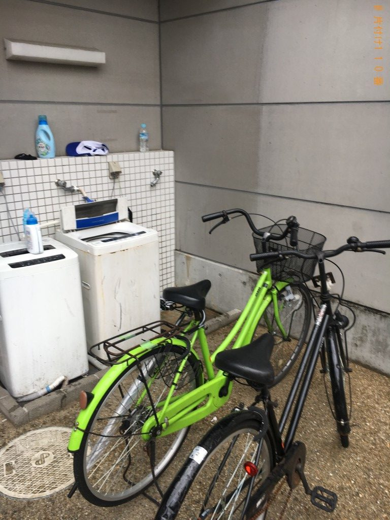 【大津市】洗濯機、こたつ、自転車等の回収・処分ご依頼 お客様の声