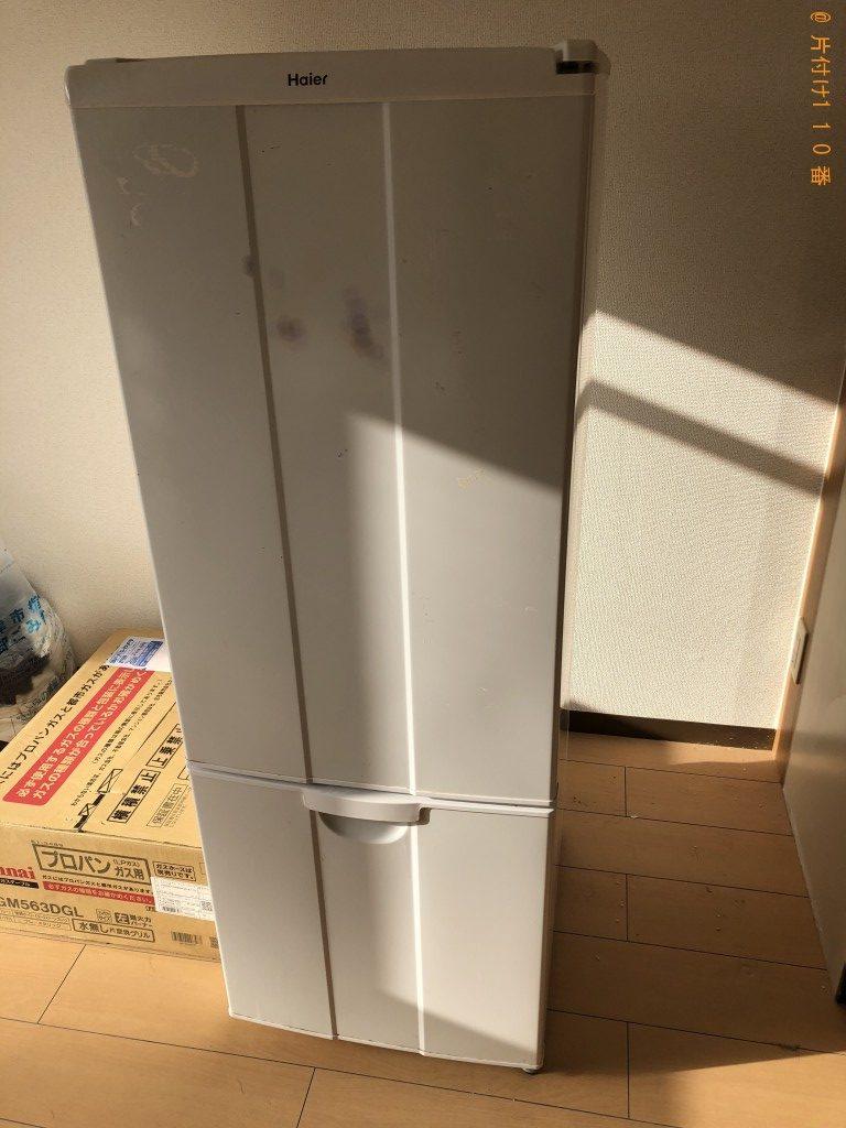 【草津市】冷凍庫、洗濯機、ダブルベッドの回収・処分ご依頼